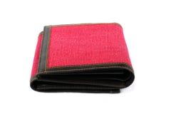 красный цвет портмона Стоковое Фото