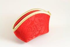 красный цвет портмона стоковые изображения rf