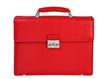 красный цвет портфеля Стоковая Фотография RF