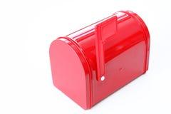 красный цвет почты коробки Стоковая Фотография RF
