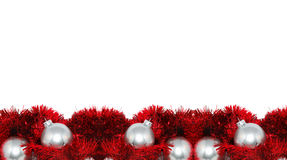 красный цвет почты рамки рождества Стоковые Фото