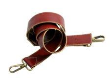 красный цвет пояса Стоковые Фото
