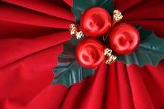 красный цвет праздника смычка Стоковые Фотографии RF