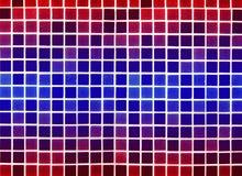 красный цвет предпосылки голубой сделанный пластичный Стоковые Фотографии RF