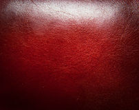 красный цвет предпосылки кожаный естественный Стоковое Изображение RF