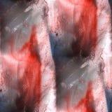 Красный цвет предпосылки настенной росписи, черное безшовное textu предпосылки картины Стоковая Фотография RF