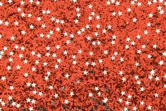 красный цвет предпосылки сверкная Стоковое Изображение RF