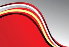 красный цвет предпосылки серый Стоковая Фотография RF