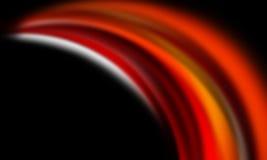 красный цвет предпосылки черный померанцовый Стоковое Фото