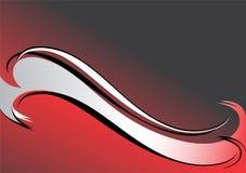 красный цвет предпосылки черный серый Стоковые Изображения RF