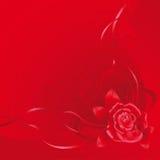 красный цвет предпосылки Стоковые Фотографии RF