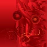красный цвет предпосылки иллюстрация вектора
