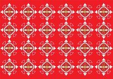 красный цвет предпосылки Стоковое Фото
