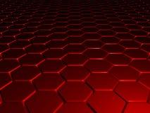 красный цвет предпосылки 3d Стоковое Изображение RF