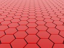 красный цвет предпосылки 3d Стоковое фото RF