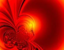 красный цвет предпосылки иллюстрация штока
