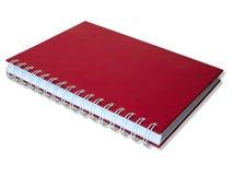 красный цвет препроводительной записки книги Стоковые Изображения RF