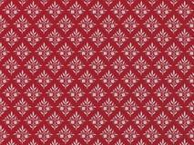 красный цвет предпосылки флористический серый Стоковые Изображения RF