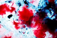 красный цвет предпосылки голубой Стоковая Фотография RF