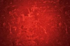 красный цвет предпосылки grungy Стоковое Изображение