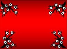 красный цвет природы Стоковая Фотография RF