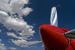 красный цвет пропеллера Стоковое фото RF