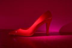 красный цвет пятки Стоковые Изображения