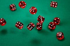 красный цвет плашек Стоковые Фотографии RF