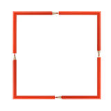 красный цвет рамки Стоковое Изображение RF