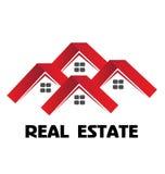 Красный цвет расквартировывает логотип Стоковая Фотография RF