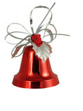красный цвет рождества колокола Стоковые Изображения