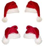 красный цвет рождества крышки Стоковые Фотографии RF