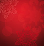 красный цвет рождества предпосылки Стоковая Фотография RF