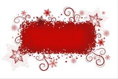 красный цвет рождества предпосылки