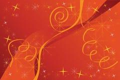красный цвет рождества предпосылки иллюстрация штока