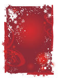 красный цвет рождества предпосылки Стоковые Фото