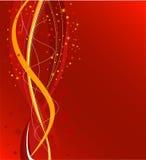 красный цвет рождества предпосылки Стоковое Изображение