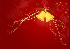 красный цвет рождества предпосылки Стоковые Изображения