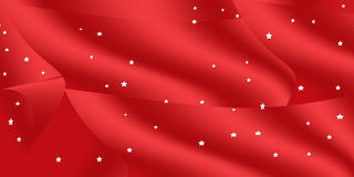 красный цвет рождества предпосылки Стоковые Изображения RF