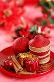 красный цвет рождества стоковое изображение