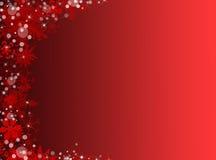 красный цвет рождества предпосылки Новый Год предпосылки Стоковое Изображение