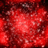 красный цвет рождества предпосылки Стоковые Фотографии RF