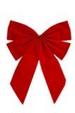красный цвет рождества смычка Стоковая Фотография RF