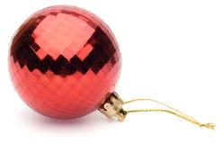 красный цвет рождества шарика стоковые фотографии rf