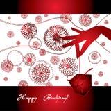 красный цвет руки подарка грациозно бесплатная иллюстрация