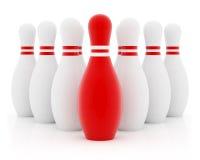 красный цвет руководителя Стоковые Изображения RF