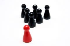 красный цвет руководителя Стоковое Изображение