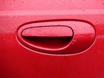 красный цвет ручки стоковое изображение rf