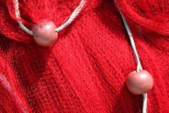 красный цвет рыболовной сети Стоковое Изображение RF
