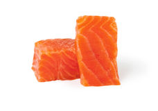 красный цвет рыб свежий Семги Стоковые Изображения